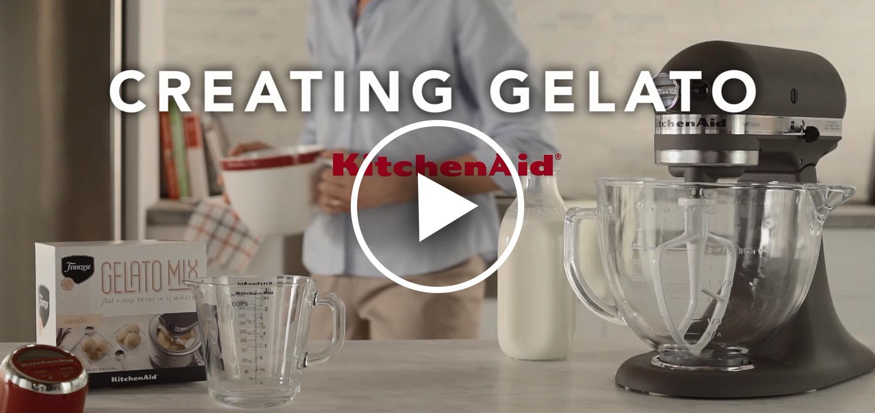 How To Make Gelato In Kitchen Aid