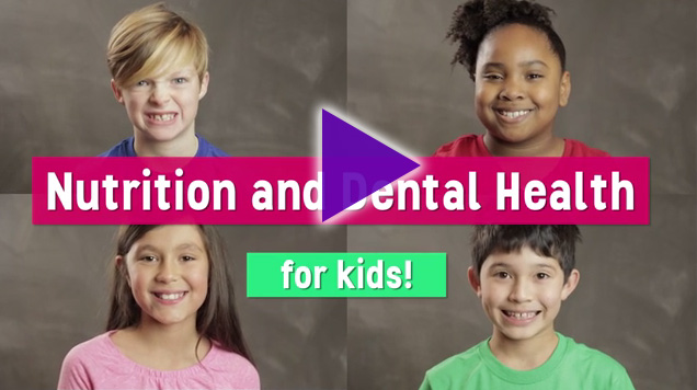 Plackers presents nutrition and dental health tips to keep kids' teeth clean and mouths healthy.