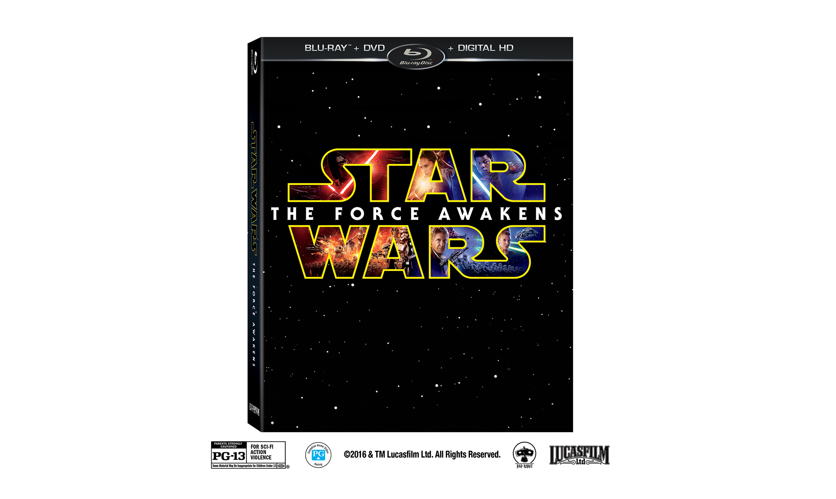 Star Wars: The Force Awakens is available on Digital HD April 1st and Blu-ray April 5th