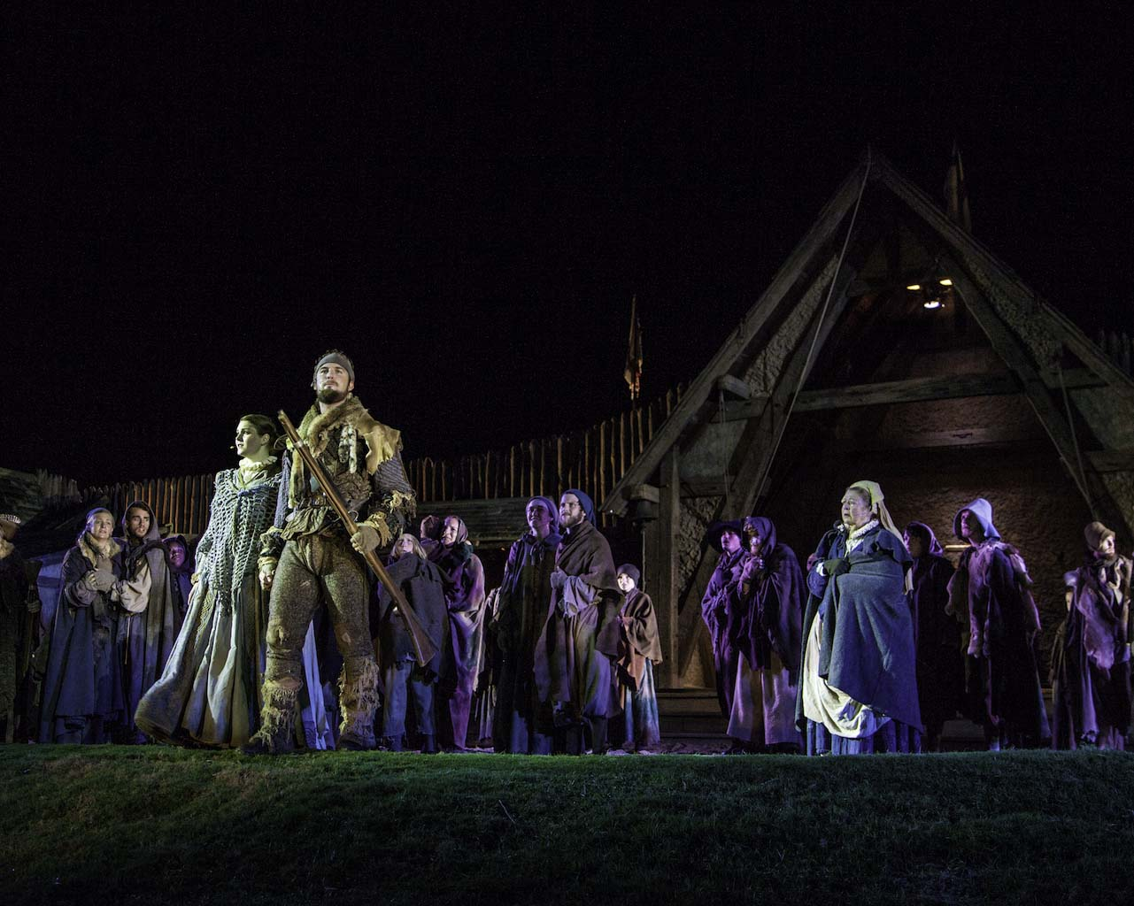 The Lost Colony features music, laughter, heartbreak, dance and romance as the story and fate of the colonists unfolds.