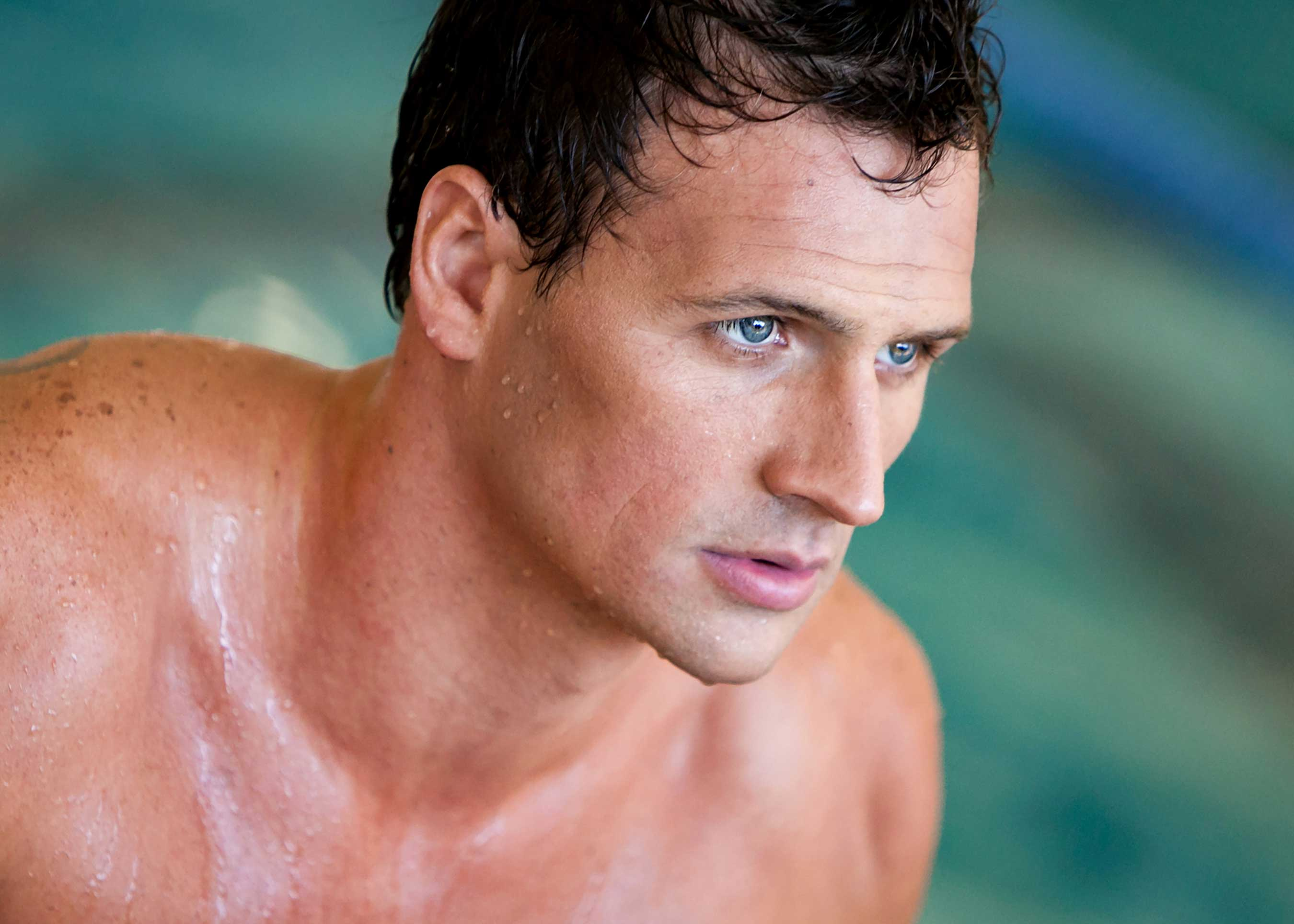 World Champion Swimmer Ryan Lochte Puts down the Razor and Picks up ...