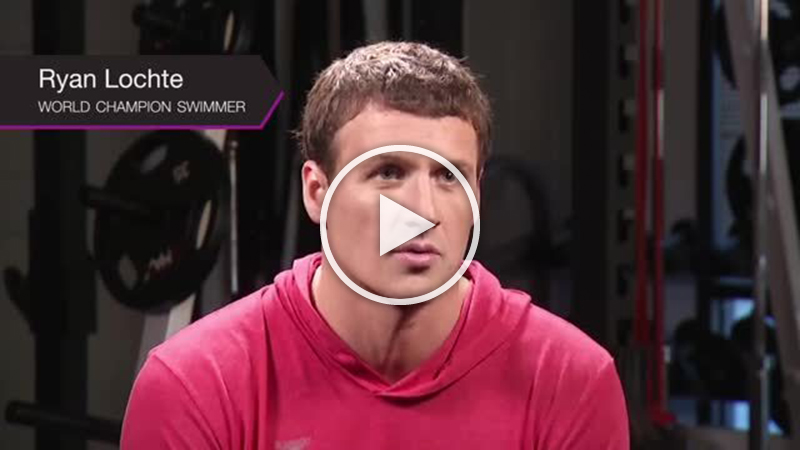 Ryan Lochte explains the feeling of Gentle Laser Hair Removal