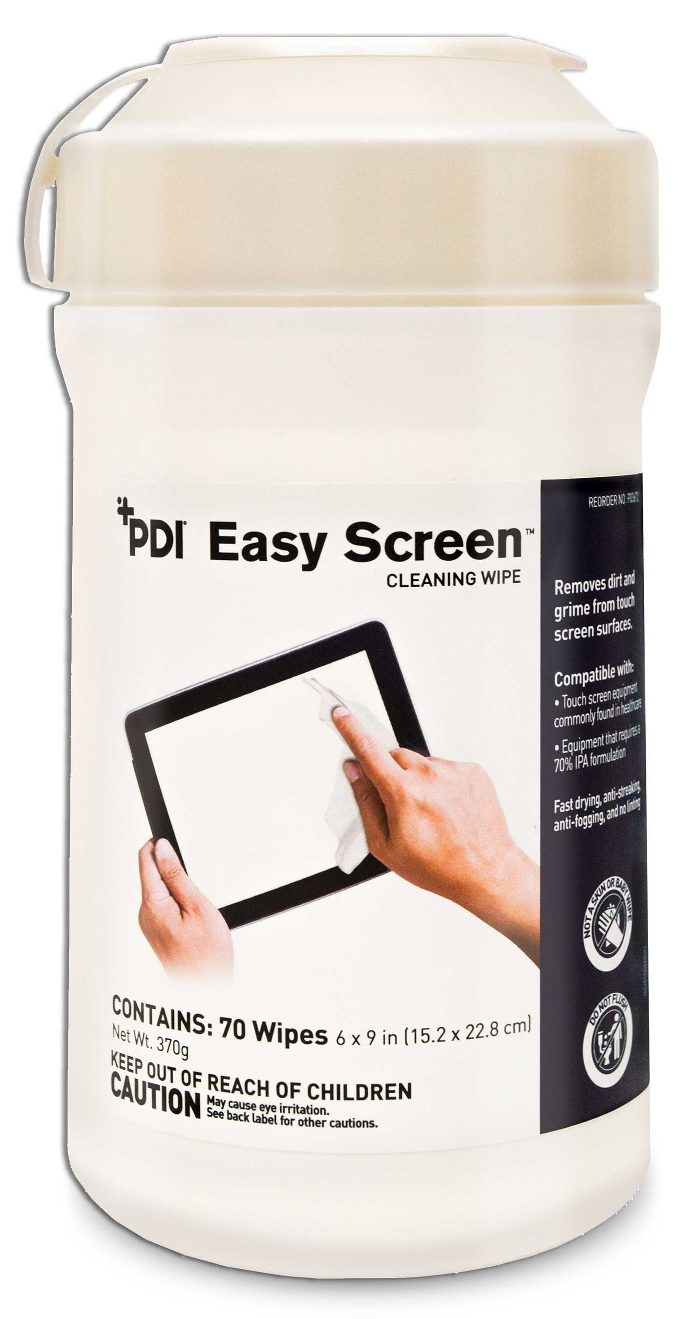 Pdi Healthcare Announcing Launch Of Easy Screen Cleaning Wipe
