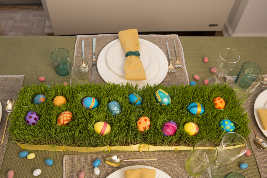 Easter Meal Place Setting