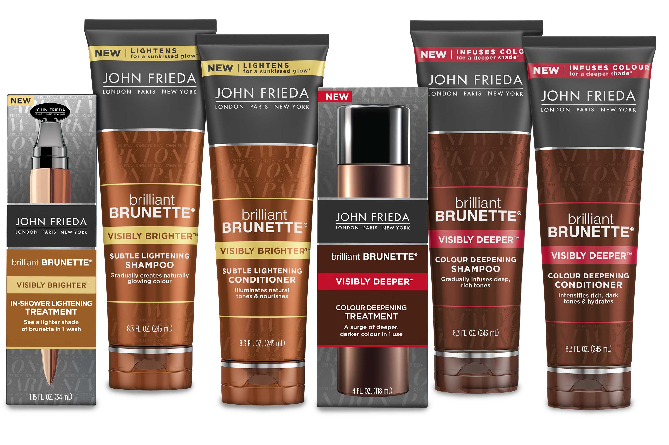 John Frieda Brilliant Brunette Collection