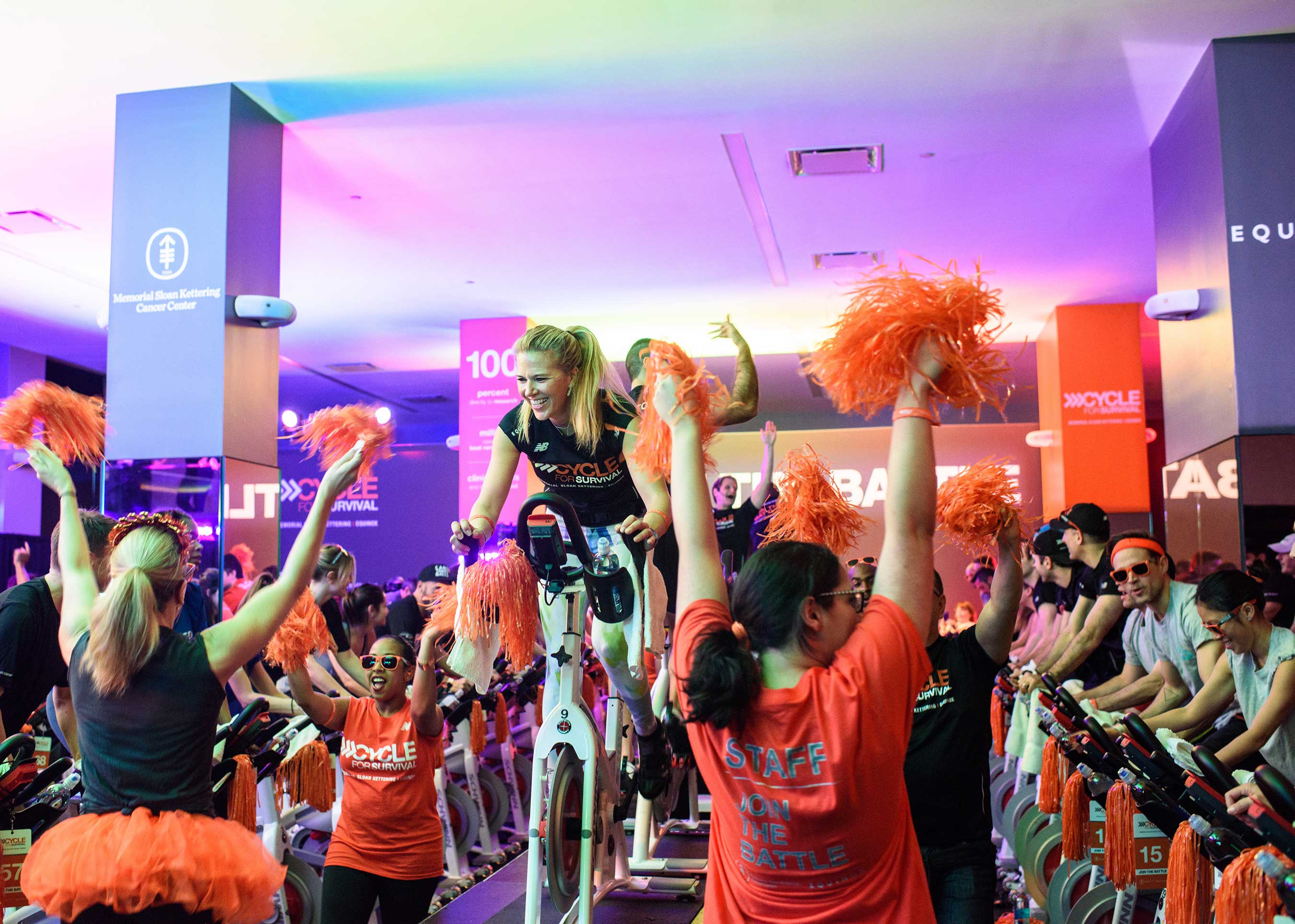 Cycle for Survival Equinox Instructor