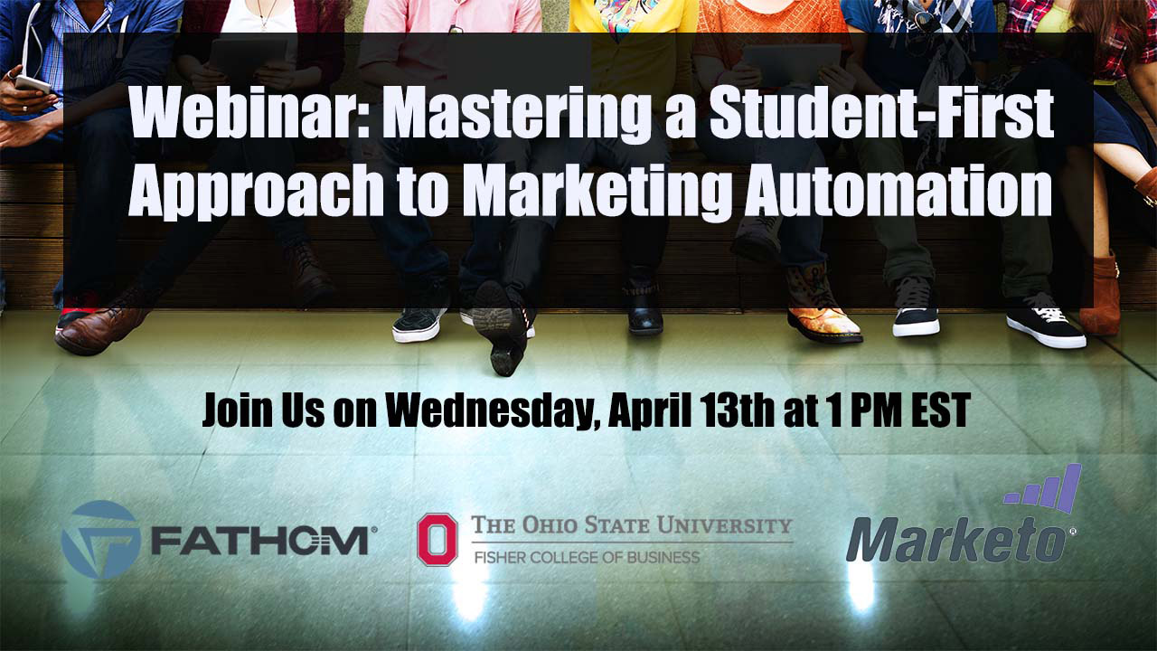Mastering a Student-First Approach to Marketing Automation Webinar