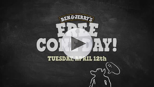 Free Cone Day Flavors