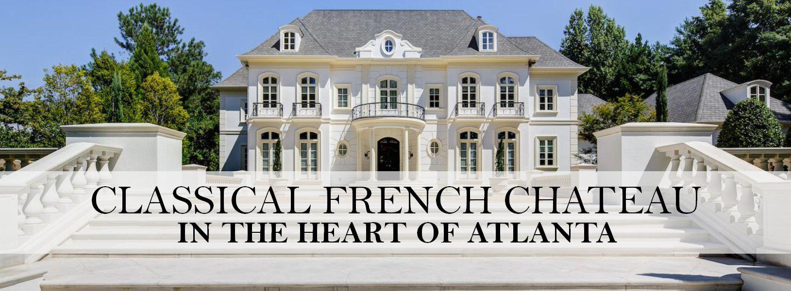 Atlanta auction house house plan 2017 for Luxury house plans atlanta ga