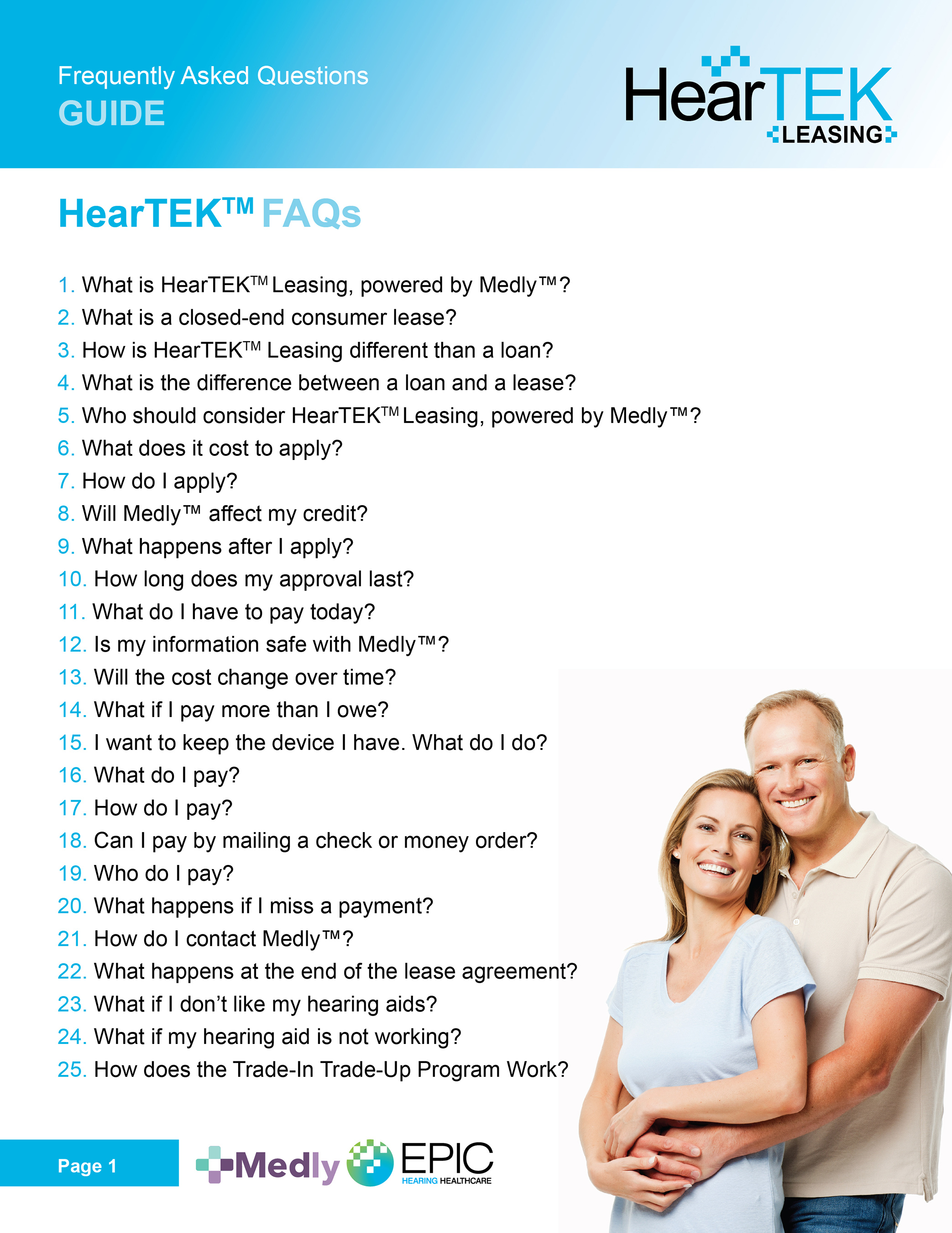 HearTEK Leasing FAQ