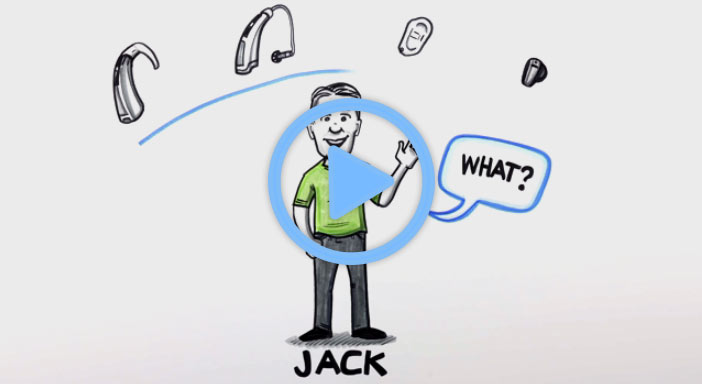 Meet Jack and learn about his struggles and concerns finding a hearing aid.