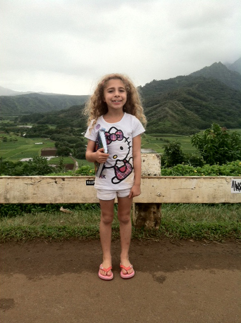 Ashlyn is in the zero percentile in height and weight because colitis has impeded her growth, making her fall victim to bullying.