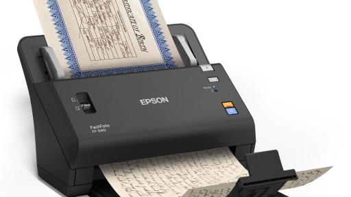 Epson Debuts World's Fastest Photo Scanner to Scan, Restore