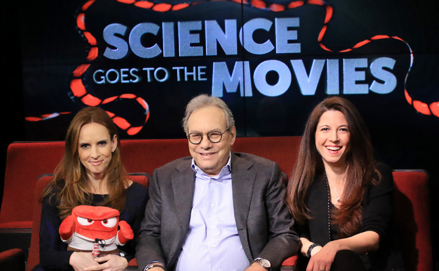 "Comedian, actor & author Lewis Black talks about Disney's ""Inside Out"" – in which he voices the role of ""Anger"" – and the science of comedy."