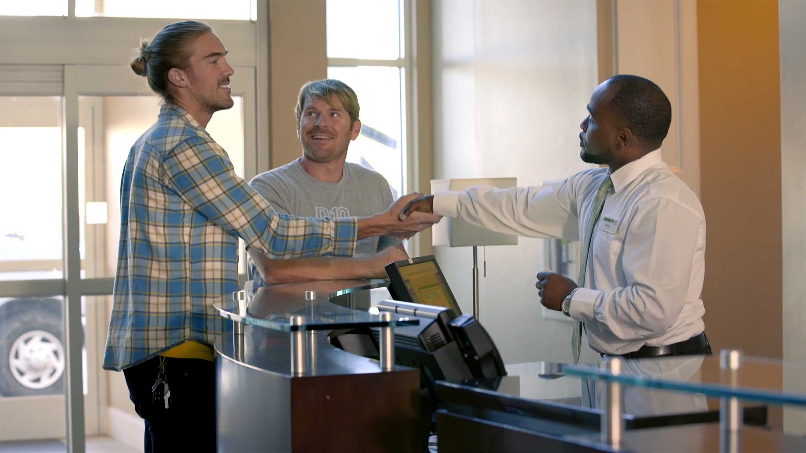 Holiday Inn® hotels support small business like Perfect 10 while on the road to help facilitate valuable connections that will grow their business.