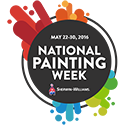 Sherwin-Williams National Painting Week logo