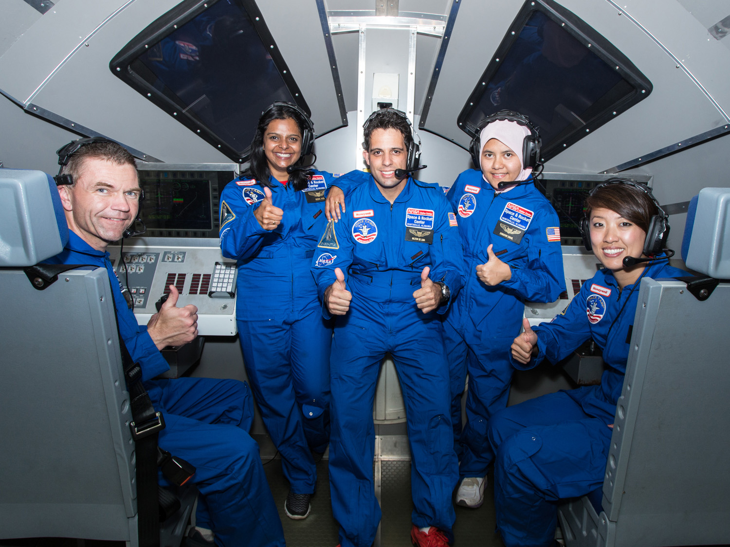 Teachers, we have liftoff! Honeywell Educators at Space Academy puts you in the pilot's seat during real-life astronaut training at the U.S. Space & Rocket Center.