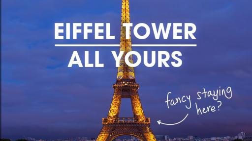 Menginap di Menara Eiffell, Perancis Saat Euro 2016 nanti