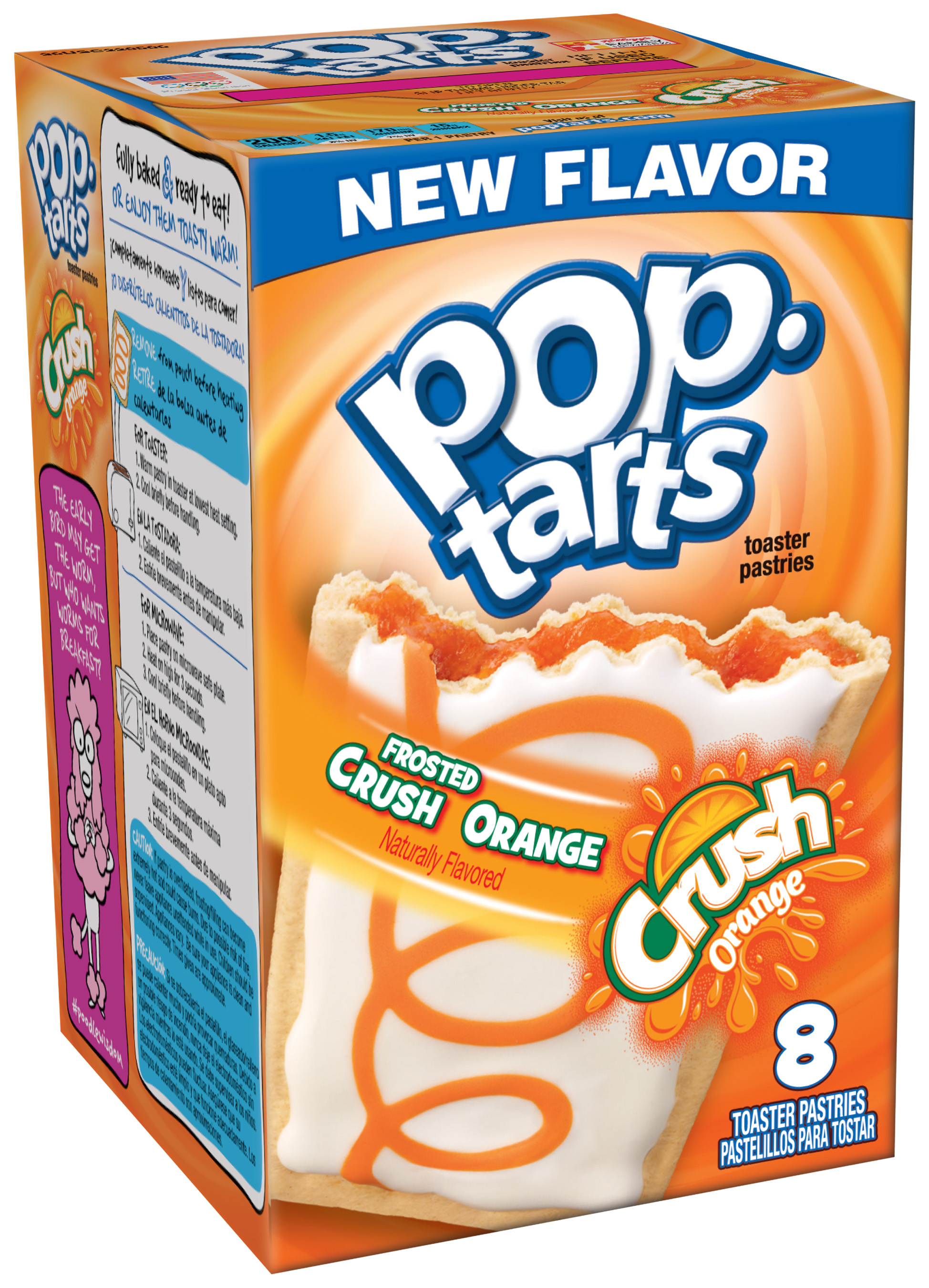 Frosted Crush Orange Pop-Tarts