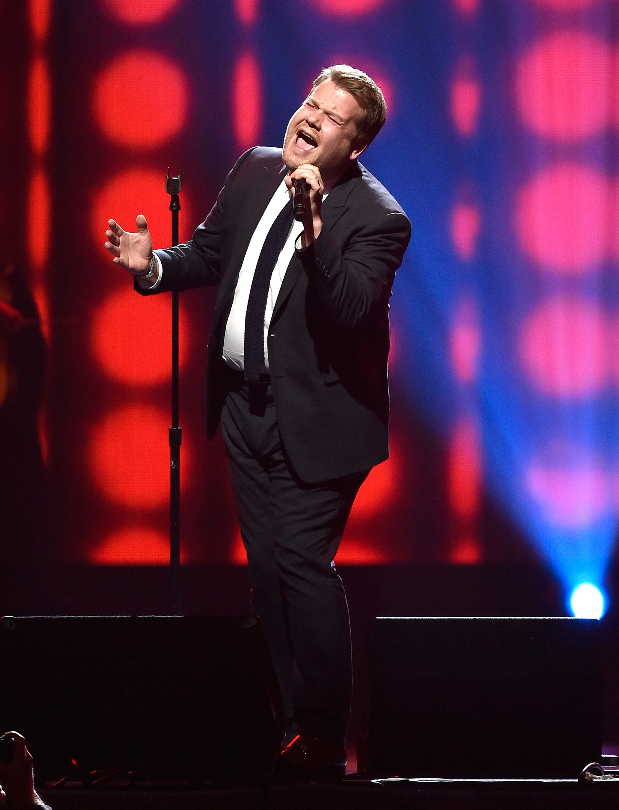 James Corden performs at KMA Gala