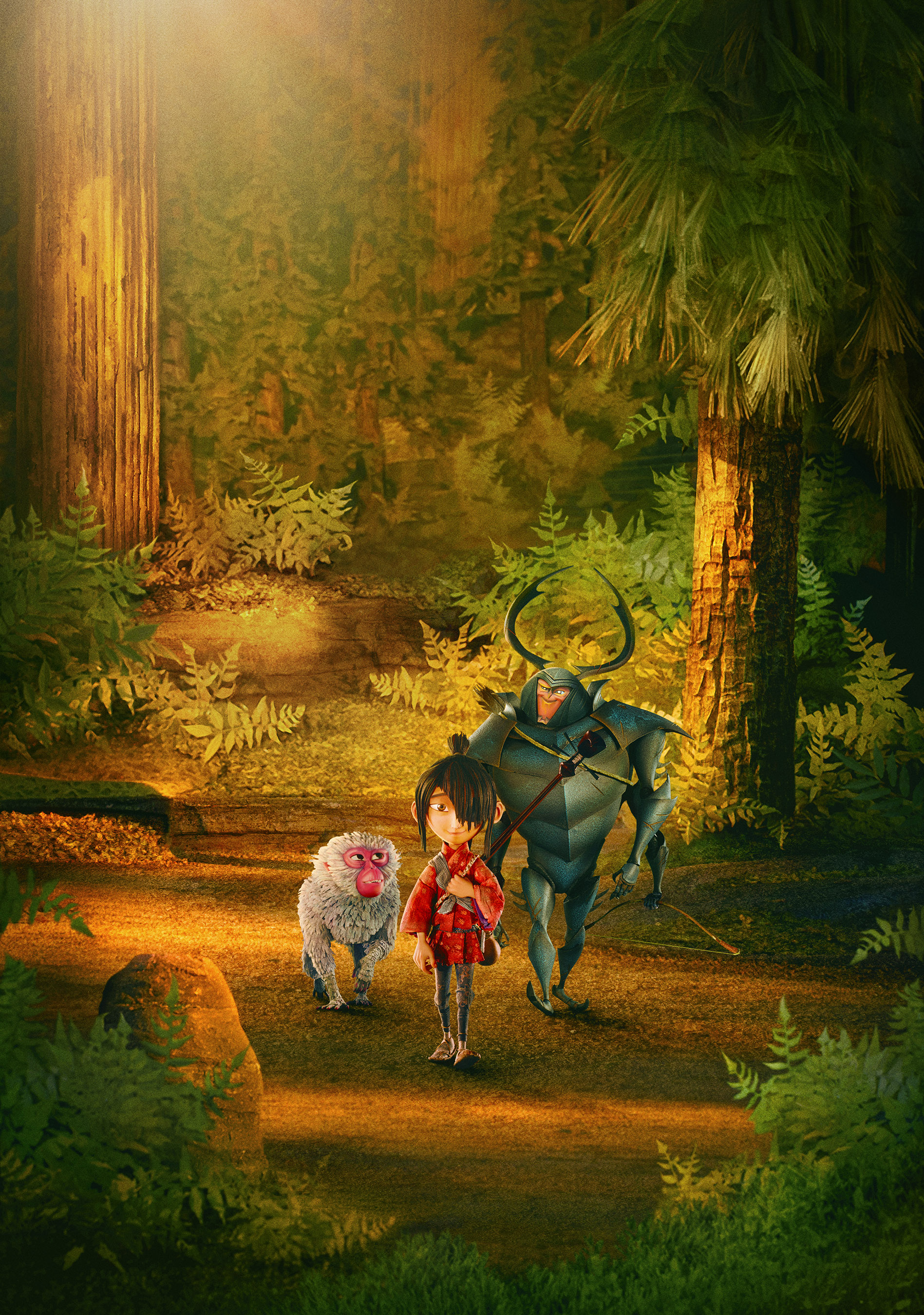 Kubo and the Two Strings Partners with Discover the Forest