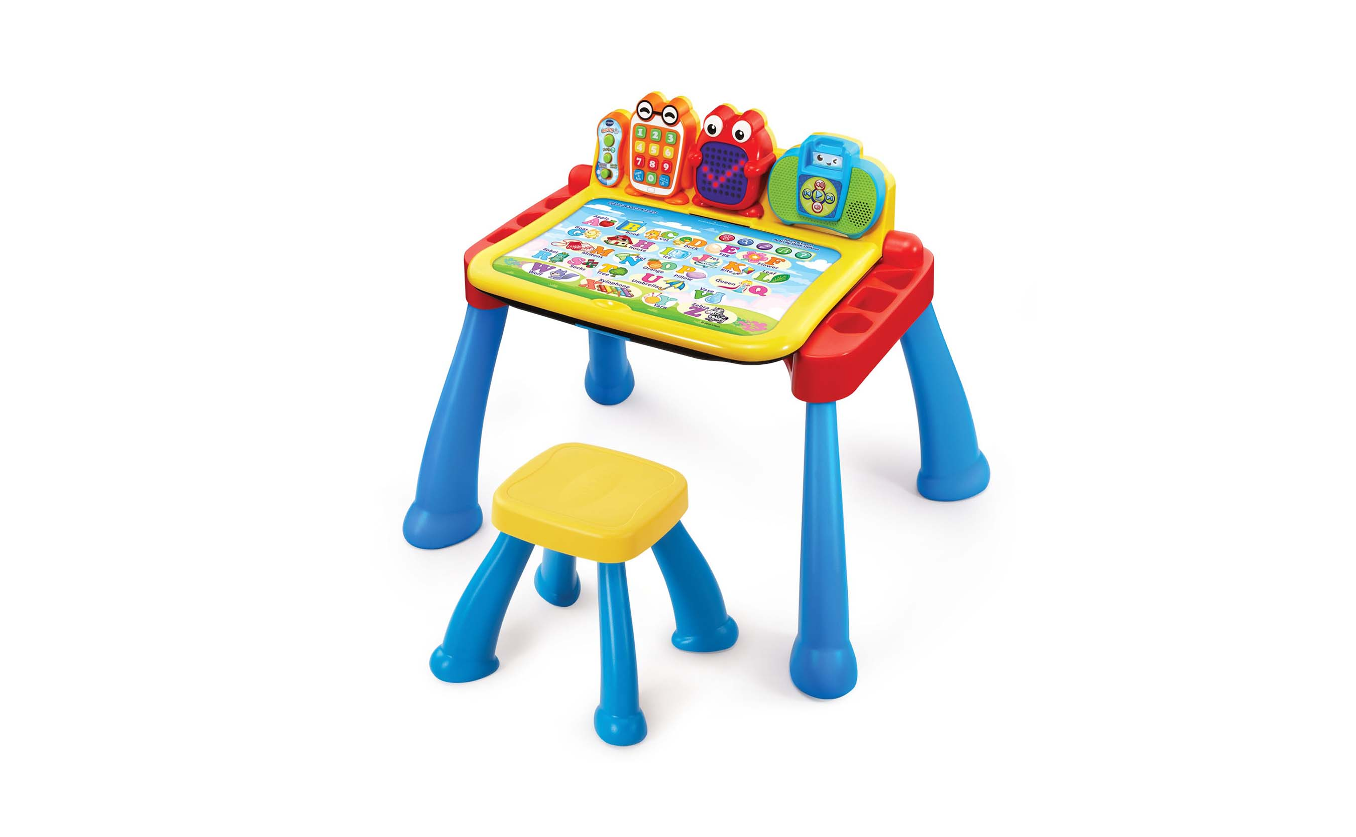Expandable Three-in-One Touch & Learn Activity Desk™ Deluxe from VTech® Available Now