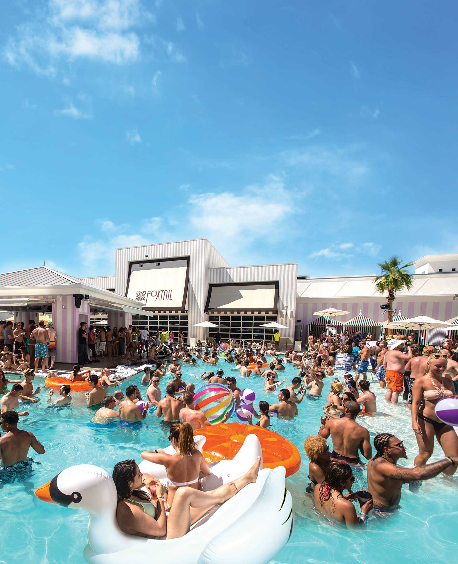 Book Vegas Pool Parties