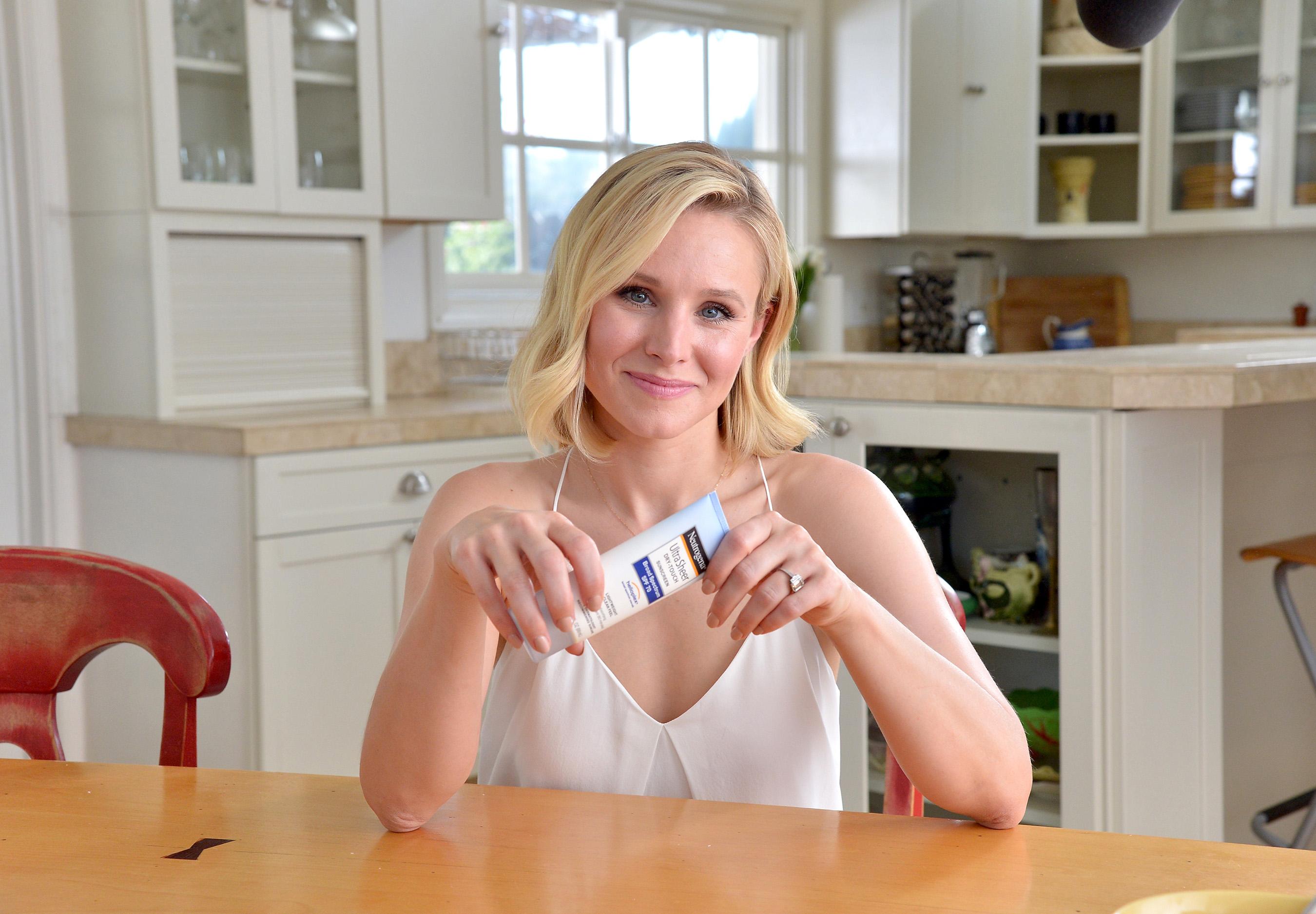 Neutrogena® Brand Ambassador, Kristen Bell