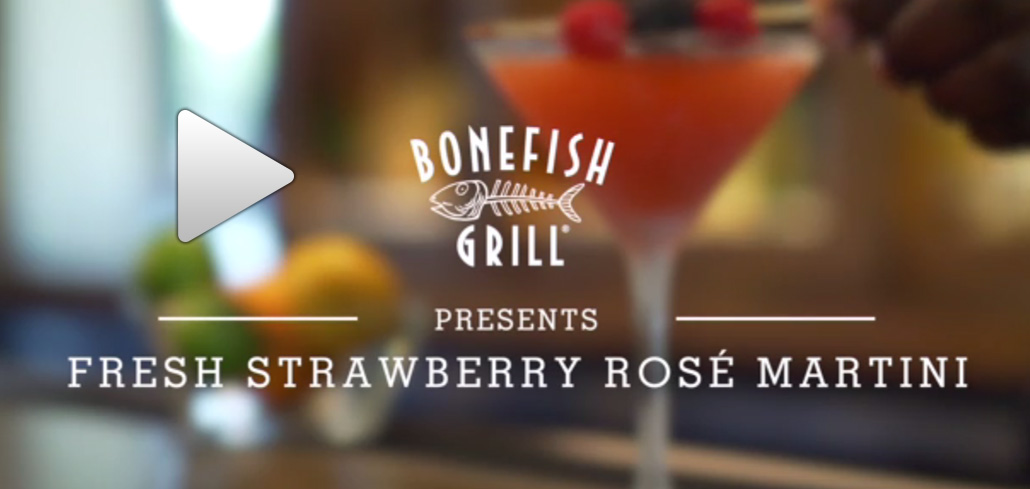 Bonefish Grill Turns National Martini Day Into A Month Long