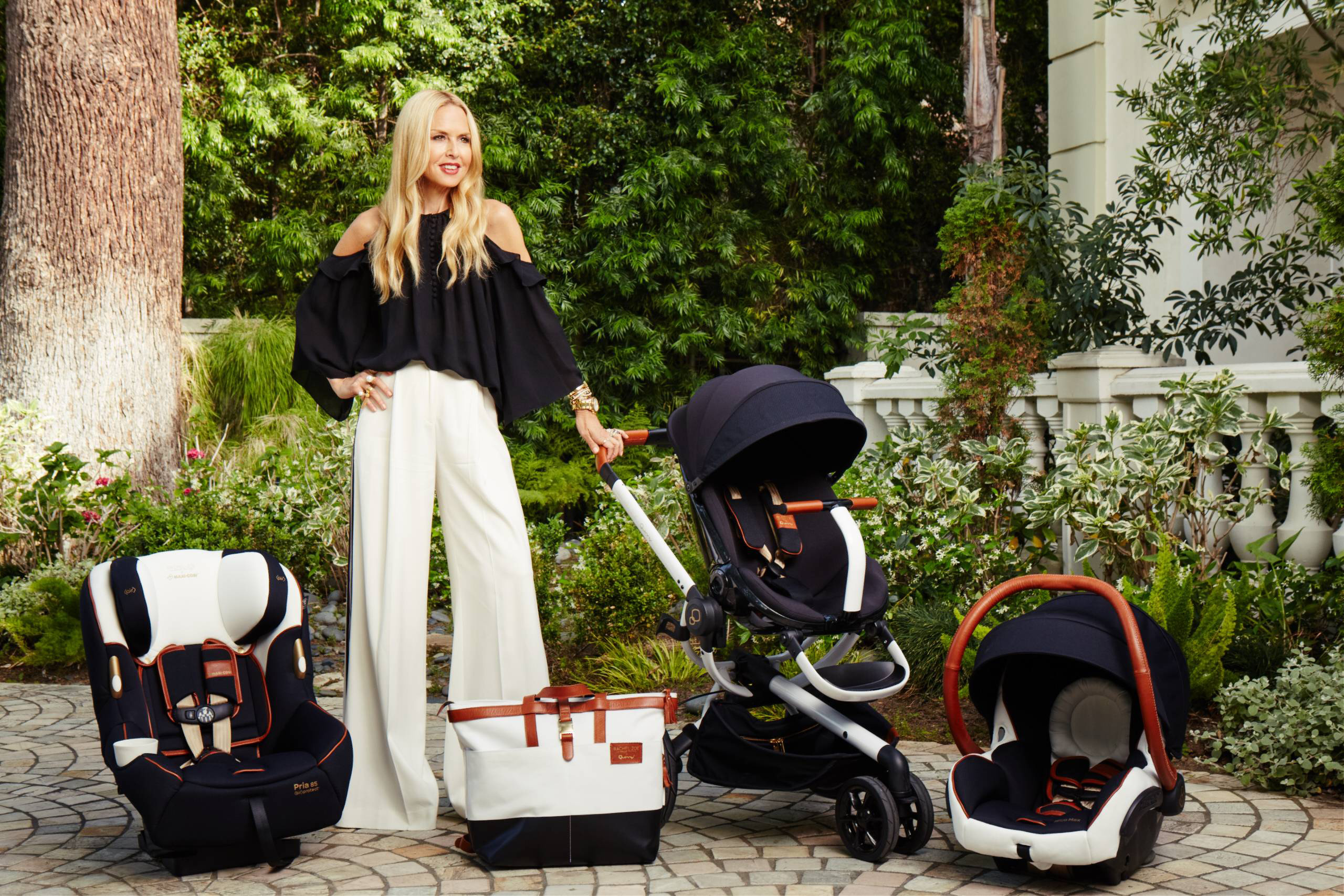 Rachel Zoe X Quinny And Maxi Cosi Collection Launches