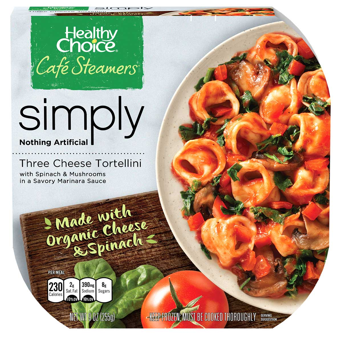 NEW ORGANIC INGREDIENT MEALS FROM HEALTHY CHOICE MAKE ...