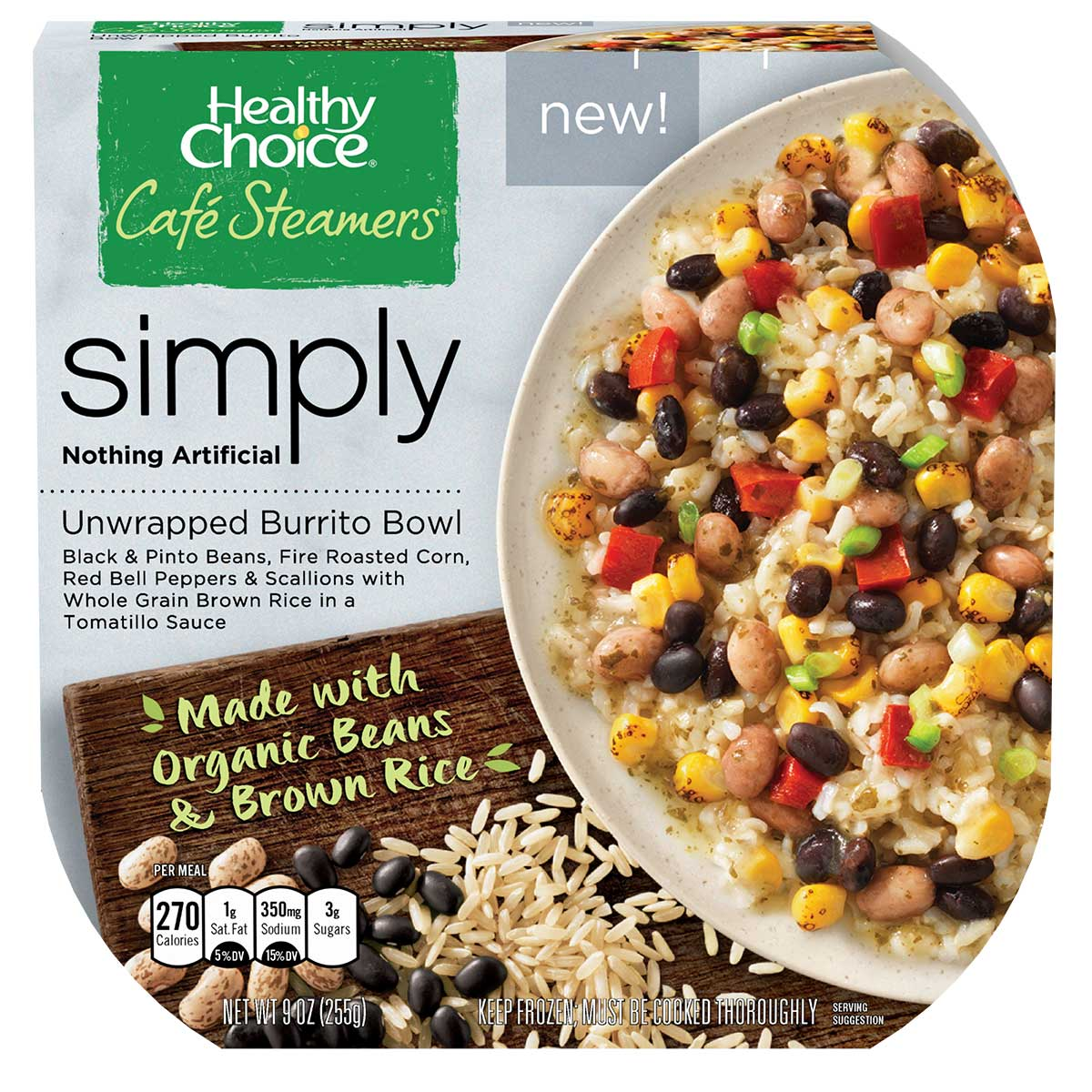 New Organic Ingredient Meals From Healthy Choice Make Eating Organic Even Easier