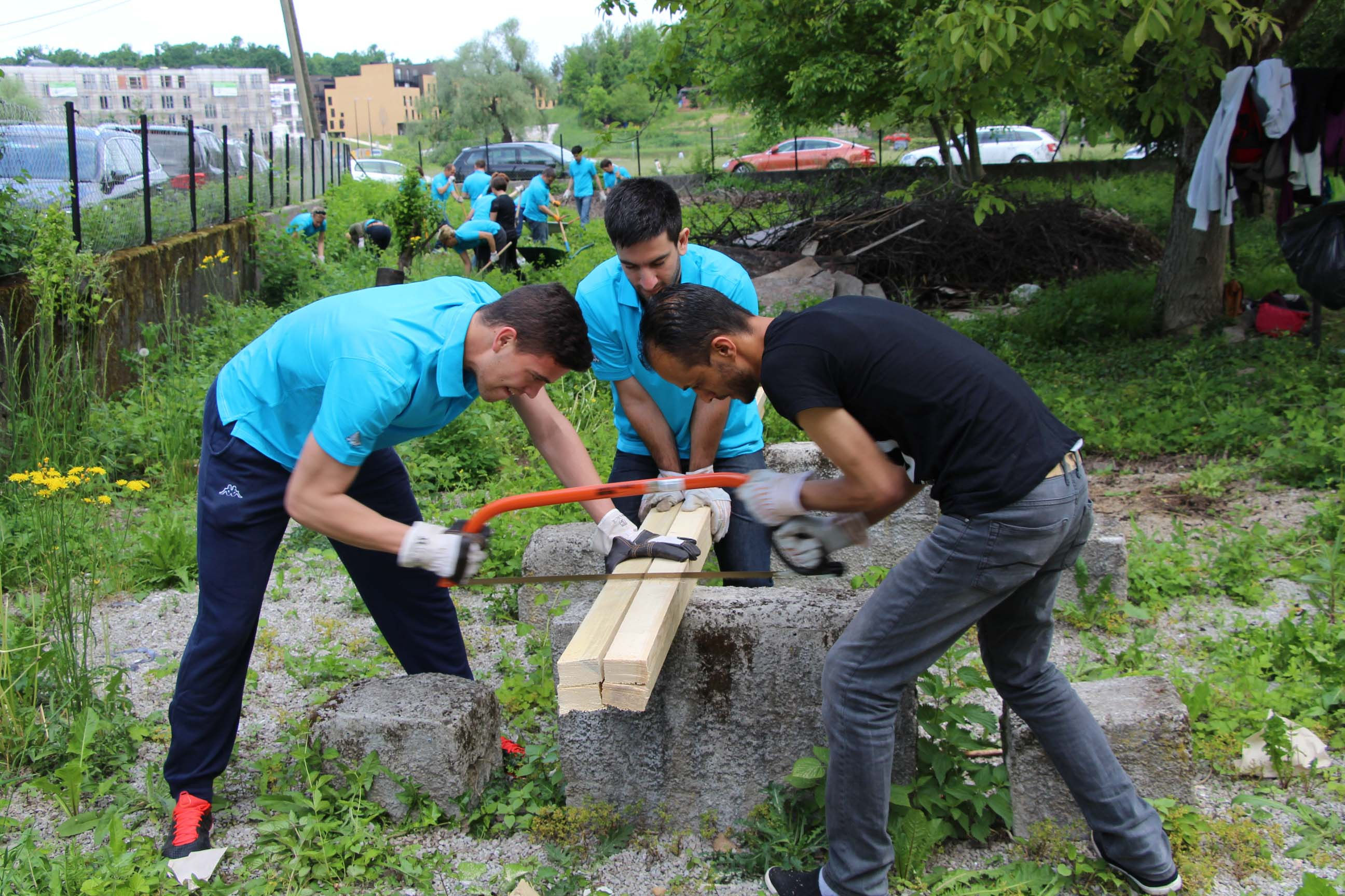 AbbVie employees worldwide will volunteer in local communities.