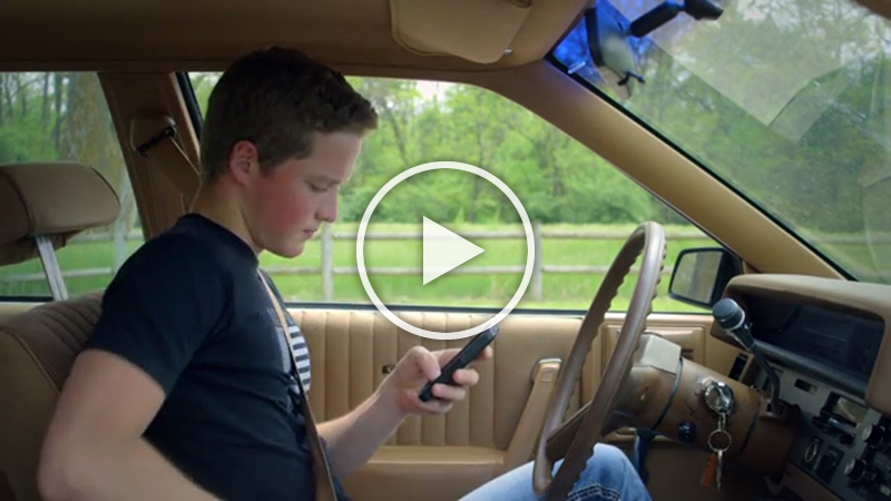 Dangers Of Texting And Driving >> U.S. Department of Transportation, Ad Council and Project ...