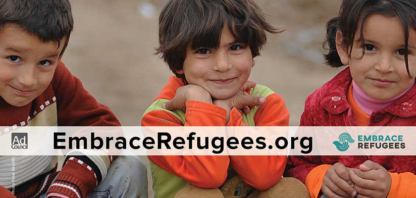 National Campaign Encourages Acceptance and Support for Refugees in the U.S.