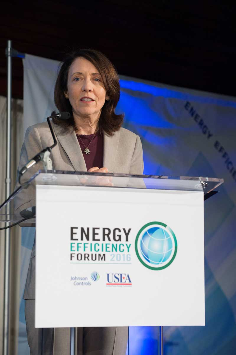 Cantwell discussed current plans to drive policy that says that smart building are just as important fuel efficient vehicles.