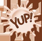 Yup Milk logo