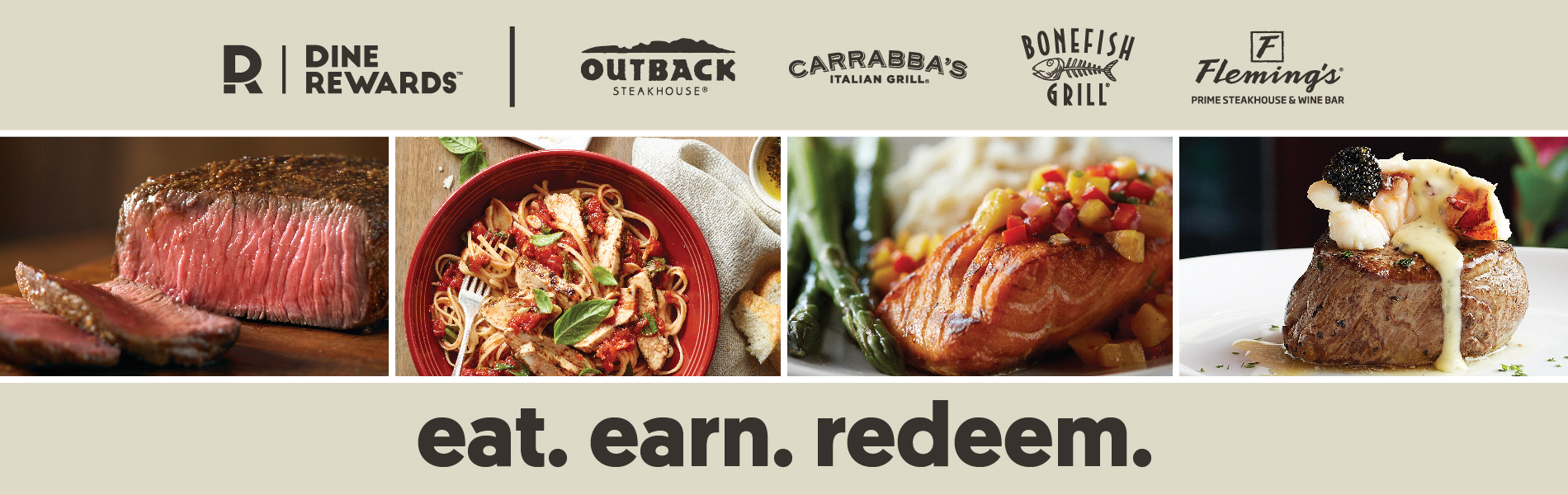 Dine Rewards Loyalty Program Launches Nationwide At Four Of