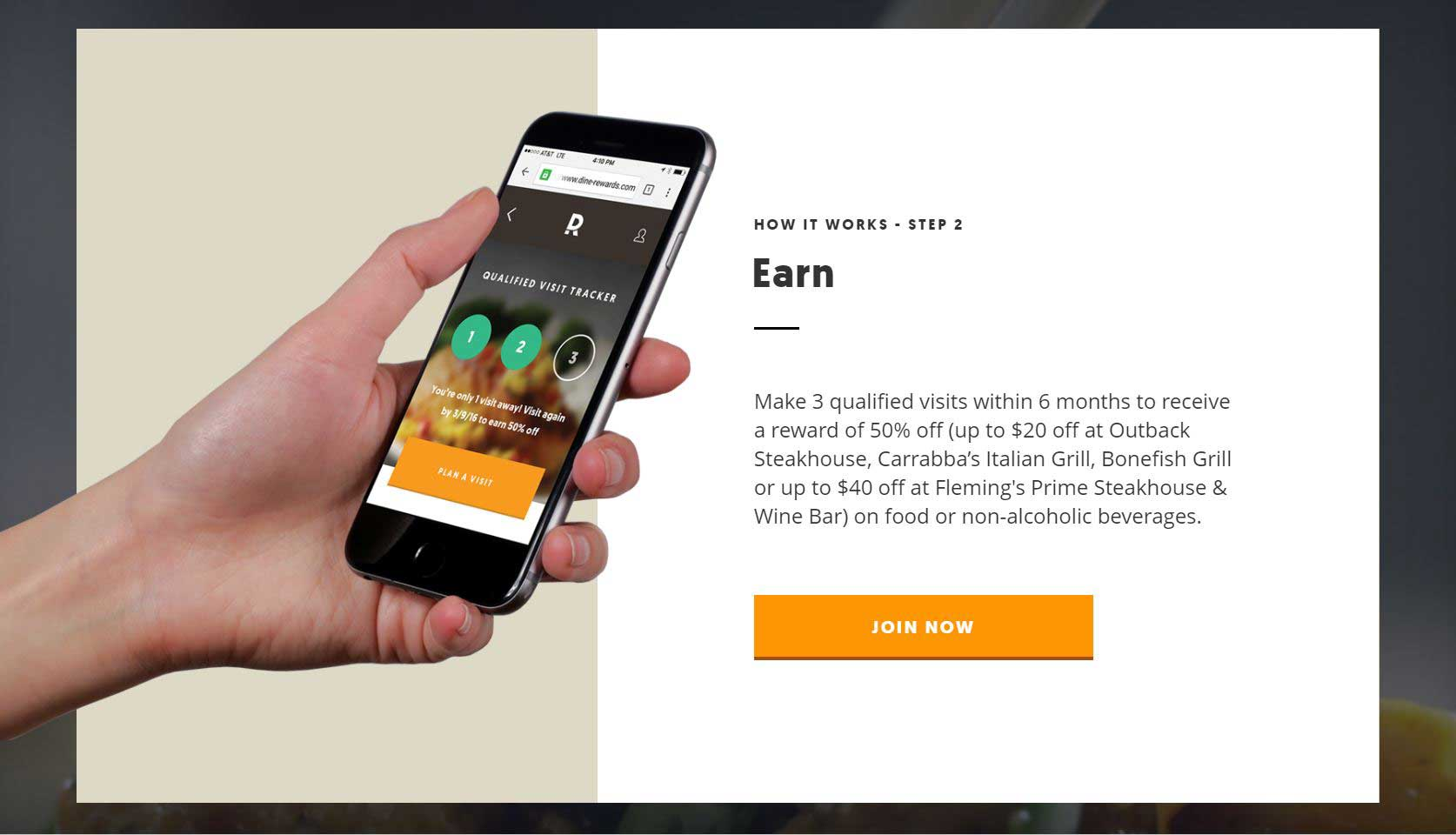 Dine Rewards Loyalty Program Launches Nationwide At Four