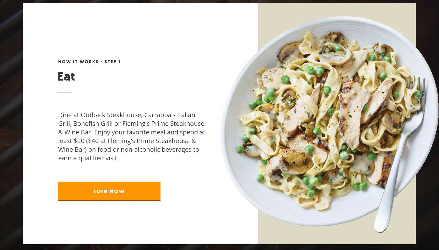 Dine Rewards™ Loyalty Program Launches Nationwide At Four Of ...