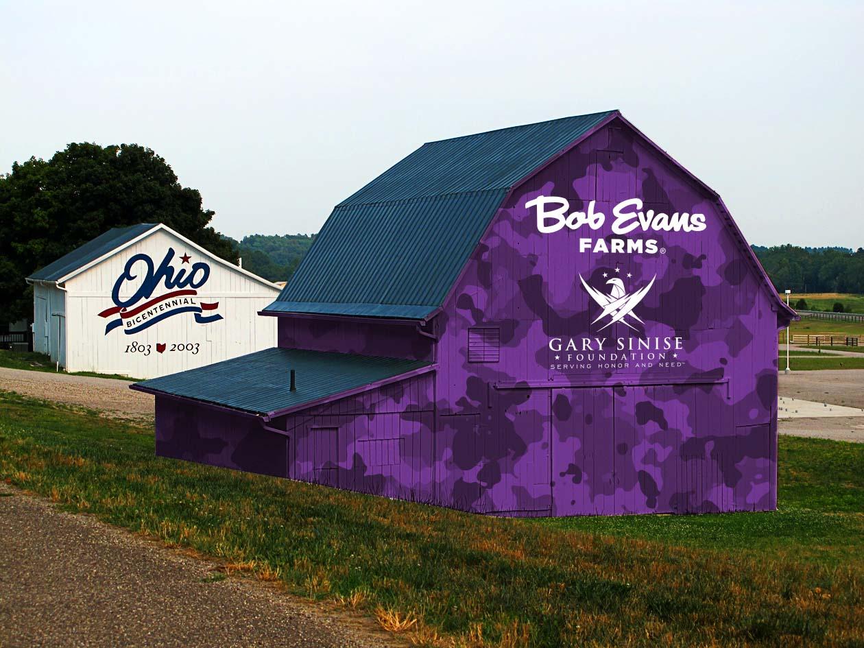 Bob Evans Purple Barn