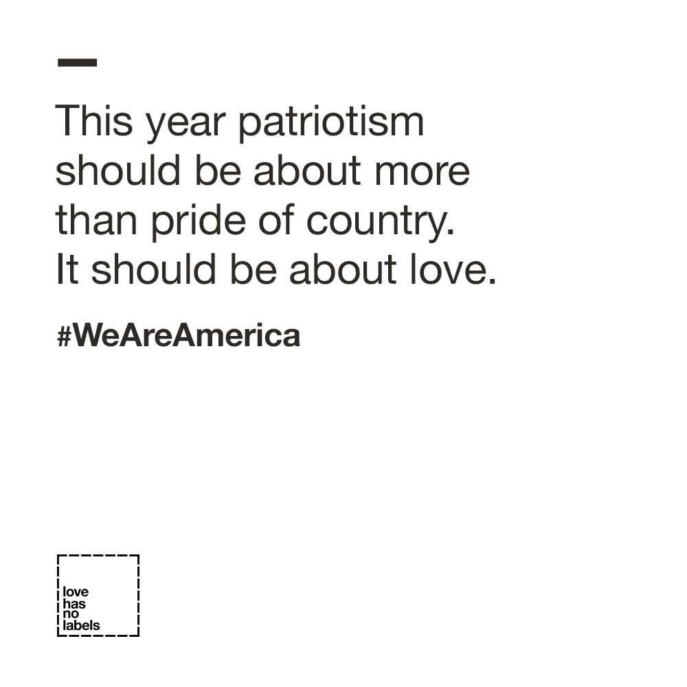 Patriotism Should be About Love