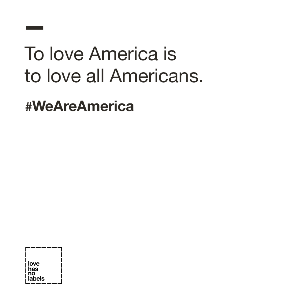 To Love America is to Love all Americans
