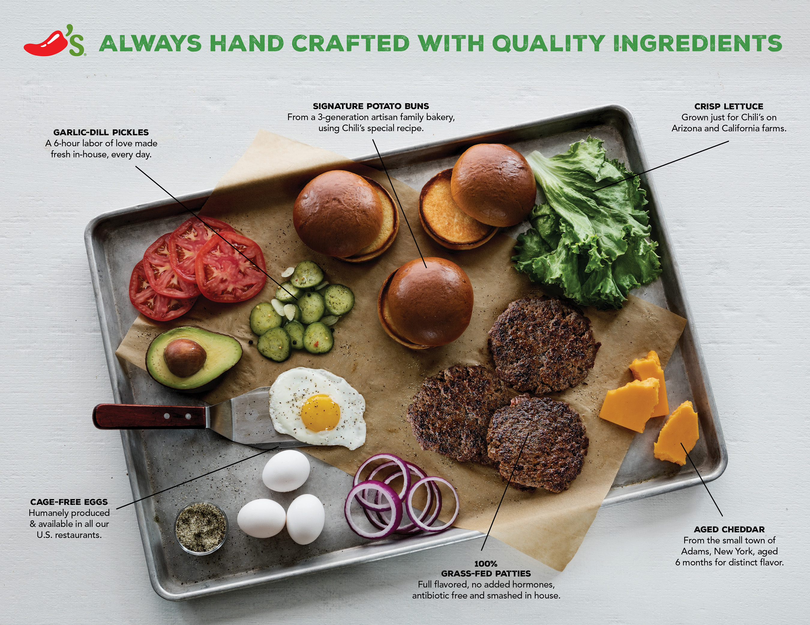 Always hand crafted with quality ingredients