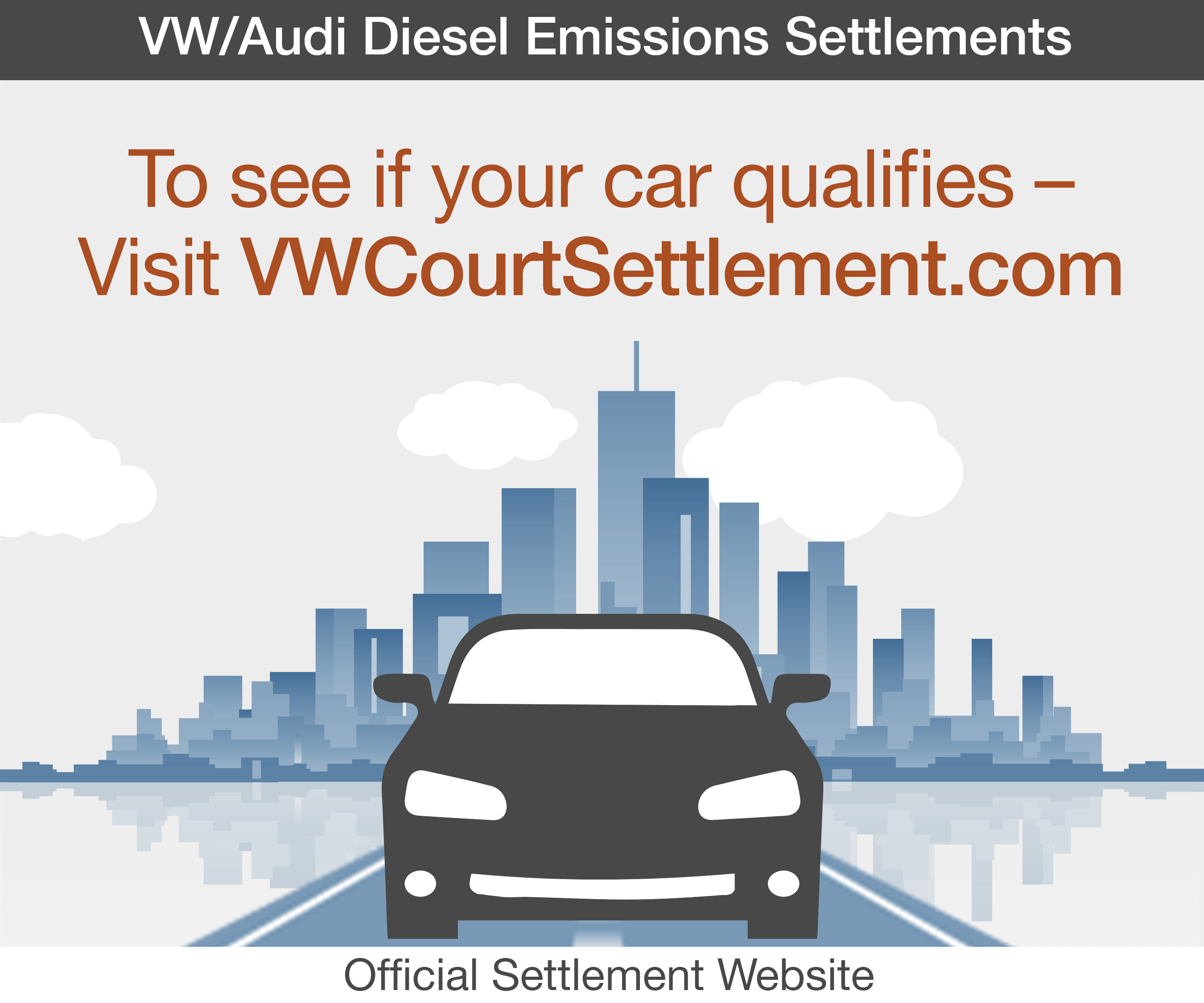 Eligible Volkswagen and Audi Owners and Lessees to Benefit from 2.0-Liter TDI Settlements