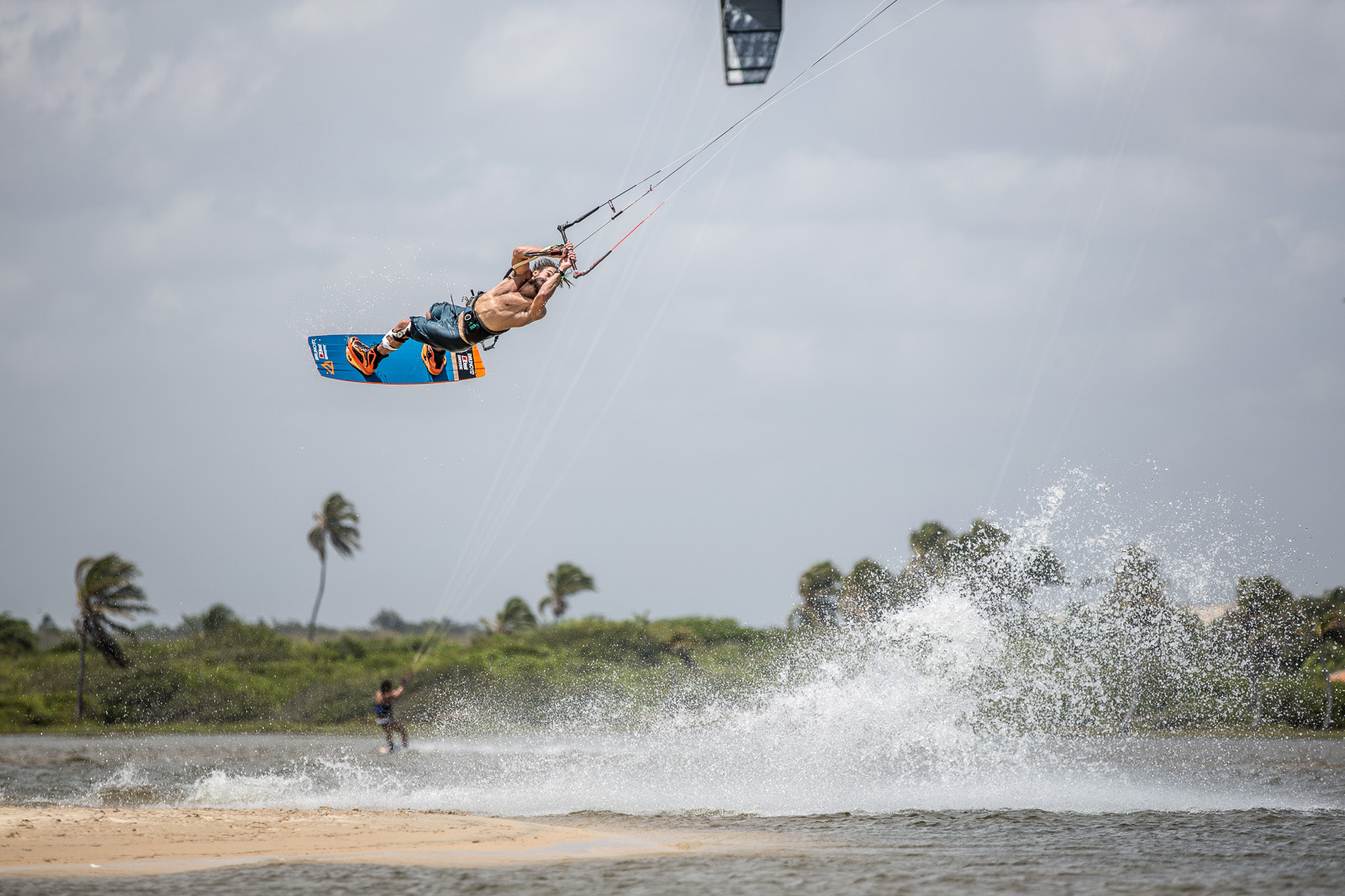 Youri Zoon pushing limits with the perfect conditions at the famous Cauipe lagoon in Cumbuco, Brazil.