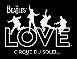 The Beatles LOVE  logo