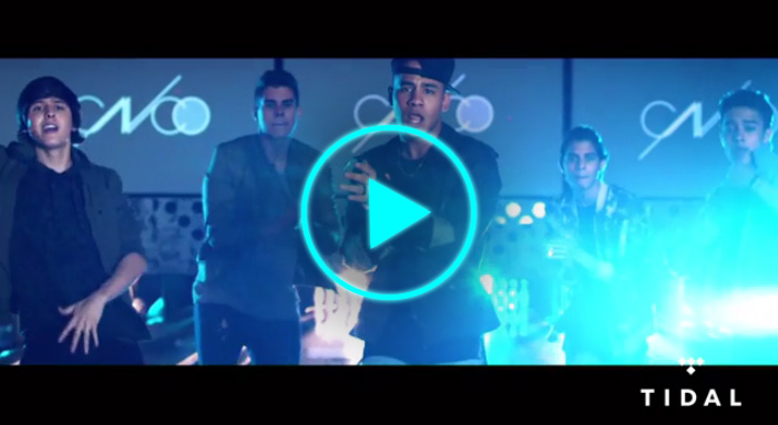 Latin music phenomenon, CNCO, exclusively debuts new music video on