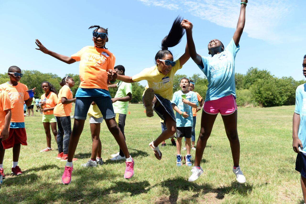 Boys & Girls Clubs kids celebrate National Triple Play Day