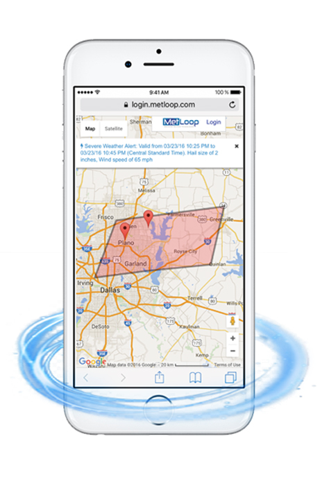 MetLoop set to release severe weather alert app.